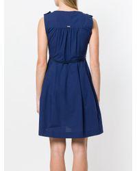 Woolrich - Blue Chest Pocket Dress - Lyst