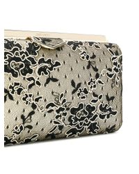Jimmy Choo - Multicolor Floral Corded Lace Clutch - Lyst