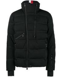 lyst moncler grenoble grenoble padded jacket in black for men. Black Bedroom Furniture Sets. Home Design Ideas