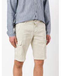 Entre Amis - Natural Cargo Shorts for Men - Lyst