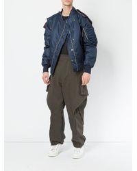 Moohong - Green Loose Fit Pants for Men - Lyst