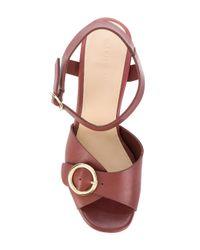 Tila March - Brown Platform Sedano Sandals - Lyst