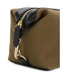 Mismo | Green Logo Plaque Wash Bag | Lyst