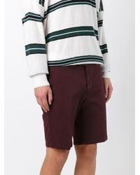 AMI - Purple Bermuda Shorts for Men - Lyst