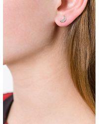 Astley Clarke - Metallic 'mini Moon Biography' Stud Earrings - Lyst