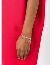 Eddie Borgo - Metallic Safety Chain Bracelet - Lyst