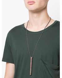 Parts Of 4 - Gray Cuboid Necklace - Lyst