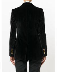 Dolce & Gabbana - Black Single Breasted Blazer - Lyst