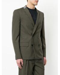 Kolor - Green Double Breasted Blazer for Men - Lyst