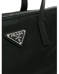 Prada - Black Shopper Tote for Men - Lyst