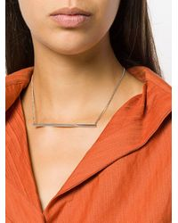 Isabel Marant - Metallic Delicate Thin Necklace - Lyst