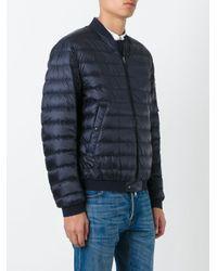 Moncler | Blue Aidan Padded Jacket for Men | Lyst