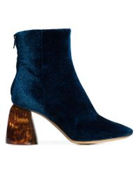 Ellery - Blue Ankle Length Boots - Lyst