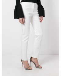 Tory Burch - White 'vanner' Trousers - Lyst