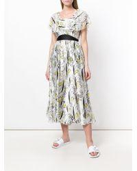 Tsumori Chisato - White Open Back Printed Jumpsuit - Lyst