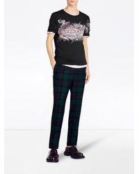 Burberry - Black Doodle Print T-shirt for Men - Lyst
