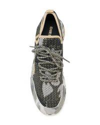 DIESEL - Green S-kby Sneakers for Men - Lyst