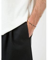 Luis Morais - Multicolor Small Horus Eye Barrel Beaded Bracelet for Men - Lyst