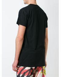 KTZ   Black Logo Print T-shirt for Men   Lyst