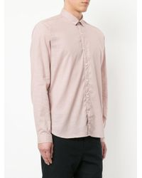 Oliver Spencer - Pink Clerkenwell Tab Shirt for Men - Lyst