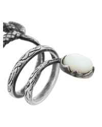Midgard Paris - Metallic Birch Ring - Lyst