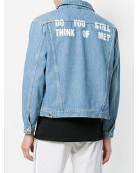 M I S B H V - Blue Classic Fitted Denim Jacket for Men - Lyst