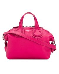 Givenchy - Pink Micro Nightingale Tote Bag - Lyst