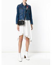 Anya Hindmarch | Black Circle Strap Crossbody Bag | Lyst