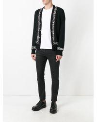 Alexander McQueen   Black V-neck Cardigan for Men   Lyst