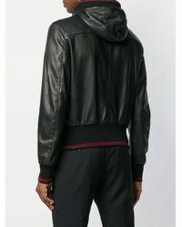 Dolce & Gabbana - Black Chaqueta con capucha for Men - Lyst