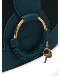 See By Chloé - Blue Hana Shoulder Bag - Lyst