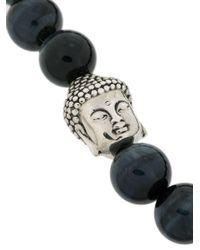 King Baby Studio - Blue Meditating Buddha Bracelet - Lyst
