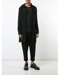 Ma+ - Black Lightweight Button Jacket for Men - Lyst