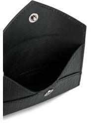 Alexander McQueen - Black Skull Envelope Clutch - Lyst