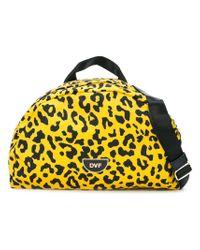 Diane von Furstenberg - Yellow Leopard Print Belt Bag - Lyst