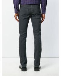 Michael Kors - Gray Straight Leg Jeans for Men - Lyst
