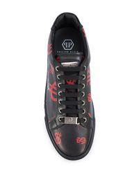 Philipp Plein - Black Alec Five Sneakers for Men - Lyst