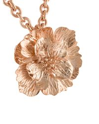 Oscar de la Renta - Multicolor Bold Flower Pendant Necklace - Lyst