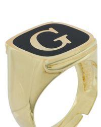 Dolce & Gabbana - Black King Ring Set for Men - Lyst