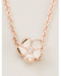 Shaun Leane - Pink Cherry Blossom Pendant Necklace - Lyst