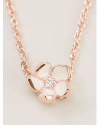 Shaun Leane | Pink Cherry Blossom Pendant Necklace | Lyst