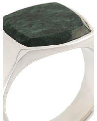 Tom Wood - Metallic 'cushion' Ring for Men - Lyst