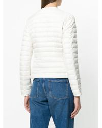 Peuterey - White Padded Jacket - Lyst