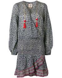 Alicia Bell - Blue Evelyn Short Dress - Lyst