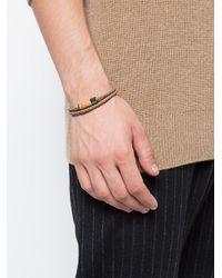 Tateossian - Brown Montecarlo Wood Bracelet for Men - Lyst