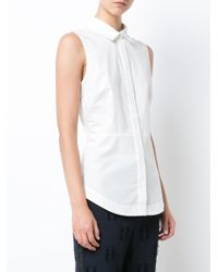 10 Crosby Derek Lam - White Lace Button-down Shirt - Lyst