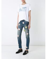 Each x Other - White 'lost Youth' T-shirt - Lyst
