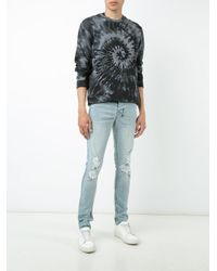 Ksubi | Blue Distressed Skinny Jeans for Men | Lyst