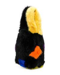 P.A.R.O.S.H. - Black Abstract Mini Bag - Lyst