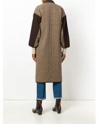 Visvim - Brown Kimono Coat - Lyst